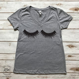 Eyelashes - Tee - Shirt