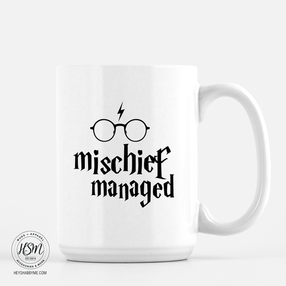 Mischief Managed, Harry Potter - Mug