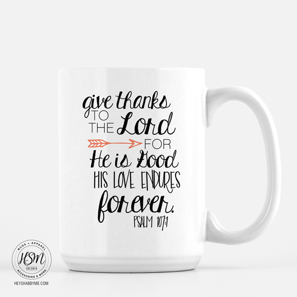 Give Thanks - Mug