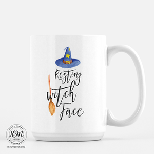 Resting Witch Face - Mug