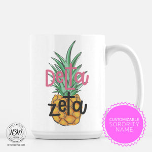 Custom Sorority Pineapple - Mug