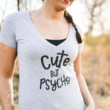 Cute But Psycho - Tee - Shirt