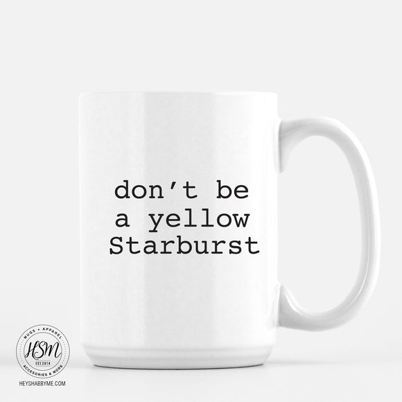 Yellow Starburst - Mug