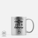 Coffee, Gilmore - Sparkle Color Ceramic - Mug