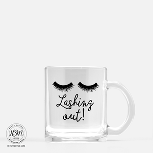 Lashing Out - Glass - Mug