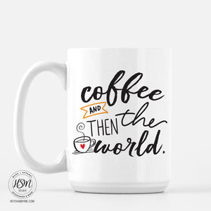 Coffee, World - Mug