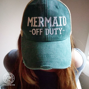 Mermaid Off Duty Hat