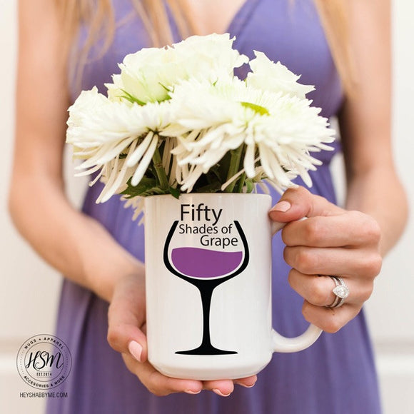 Fifty Shades of Grape - Mug