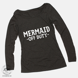 Mermaid Off Duty - Long Sleeve - Top