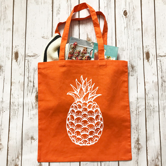 Pineapple - Tote - Bag