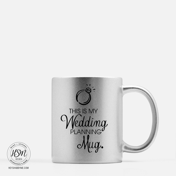 Wedding Planner - Color - Mug