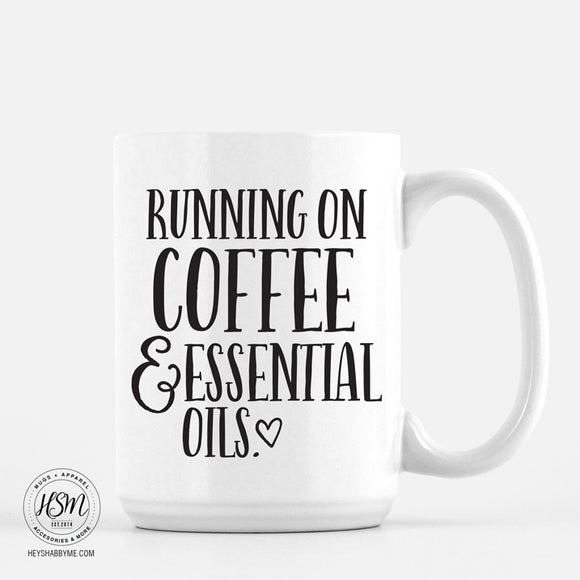 Coffee, Essential Oils - Mug