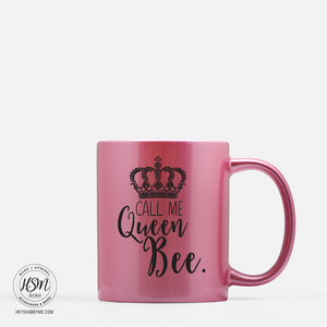 Queen Bee - Color - Mug