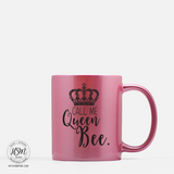 Queen Bee Color Mug Hey Shabby Me