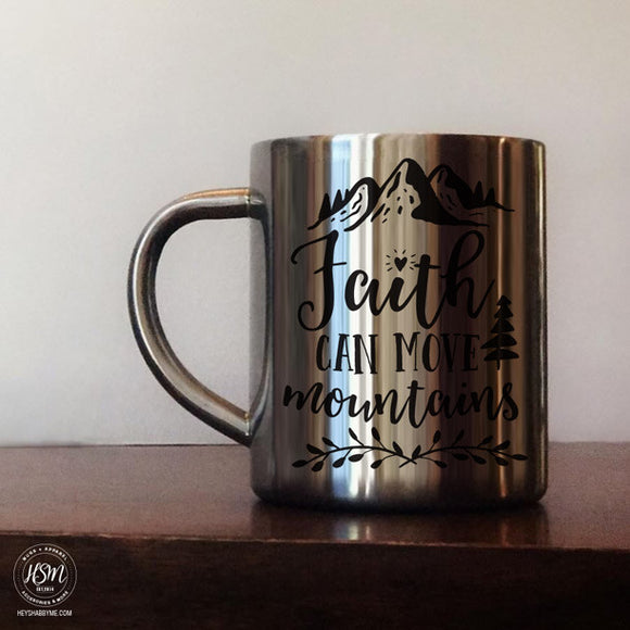 Faith - Stainless Steel - Mug