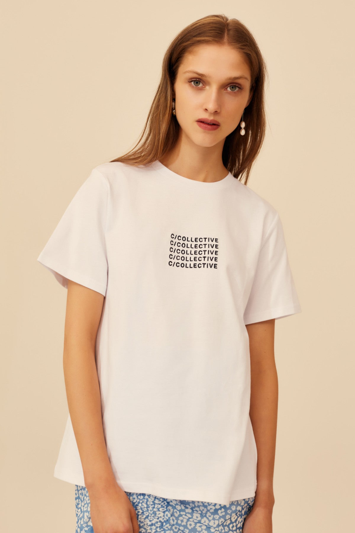 HIATUS T-SHIRT white
