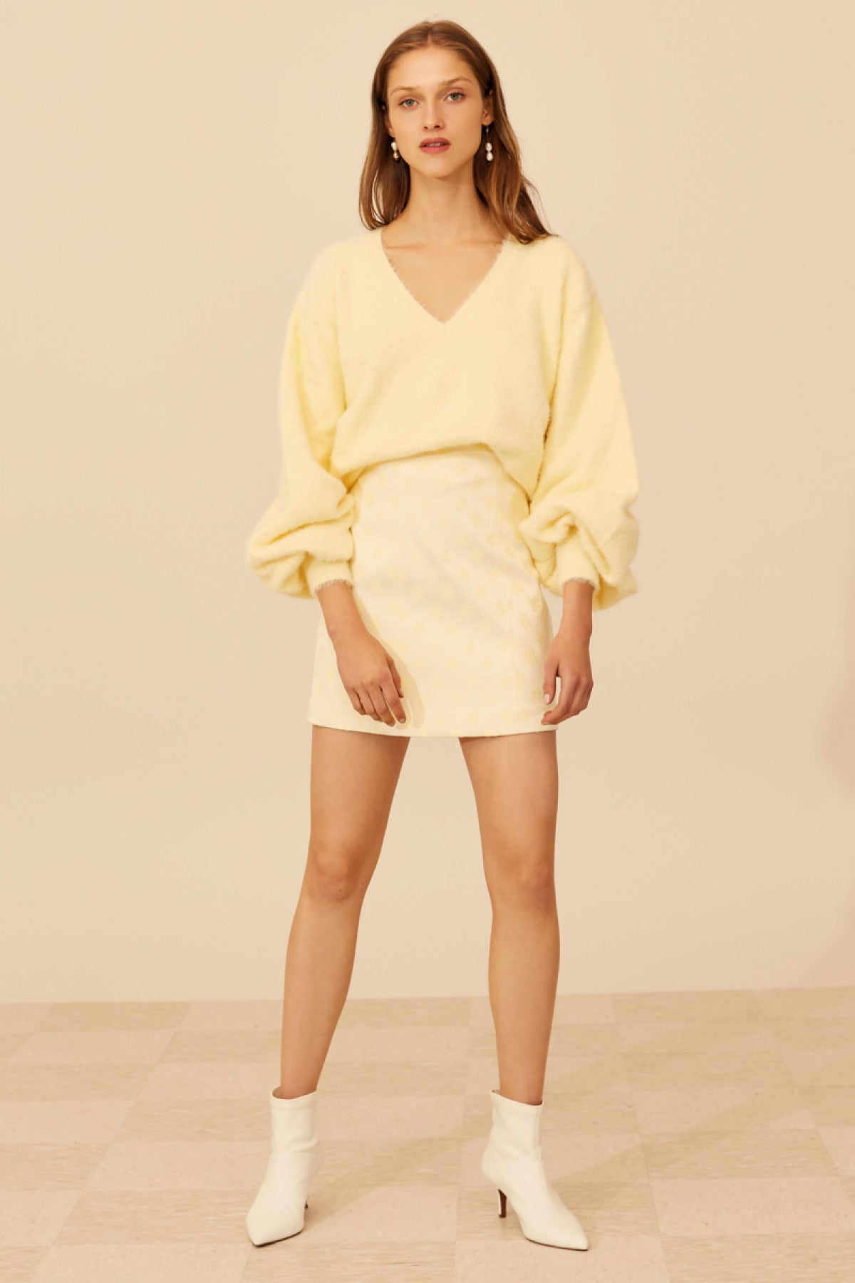 ELATE SKIRT butter