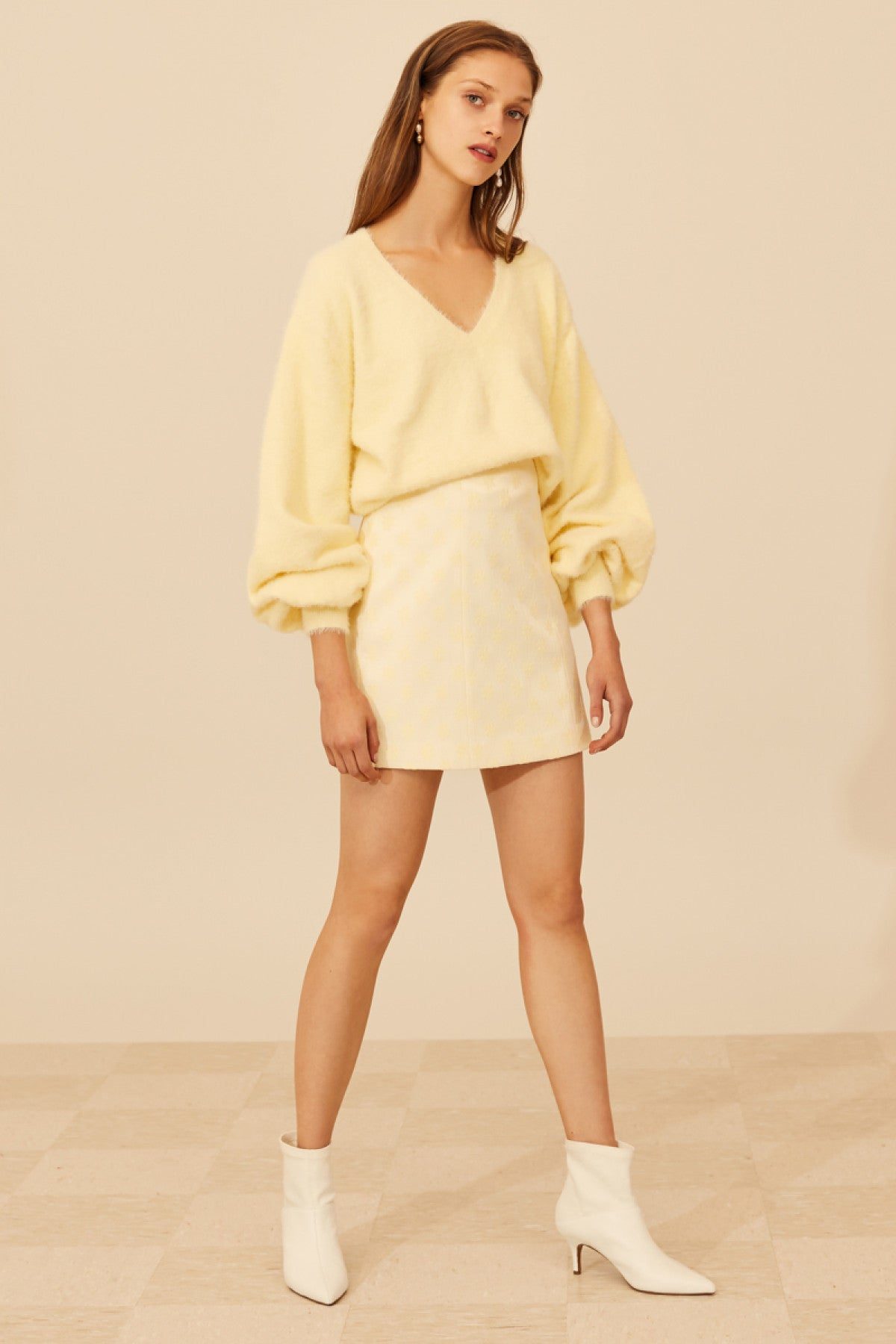 CONFINE KNIT JUMPER butter