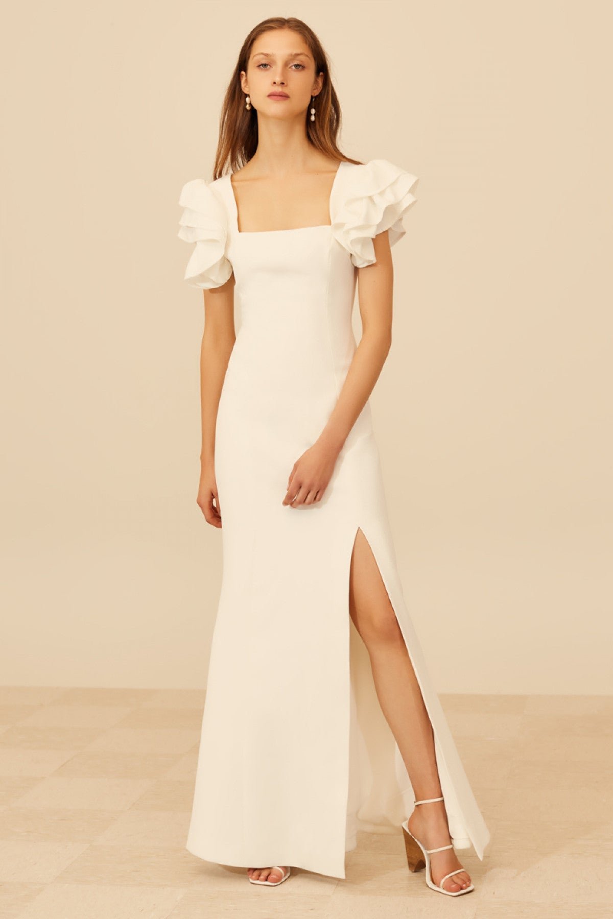 HEART OF ME GOWN ivory