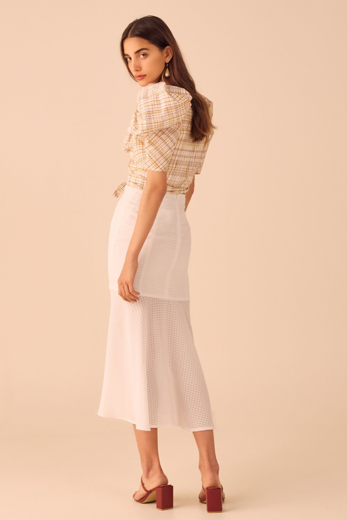 PERFECT PART SKIRT ivory