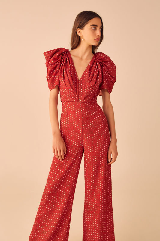 VICES JUMPSUIT red spot
