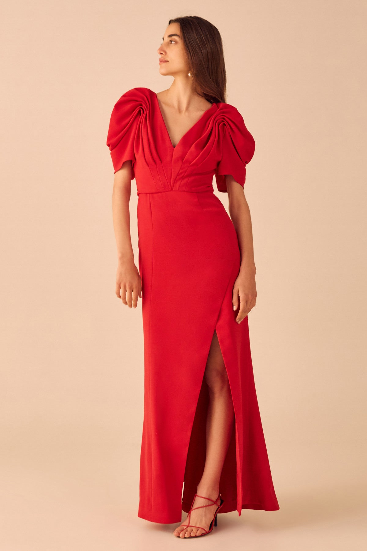 VICES GOWN cherry