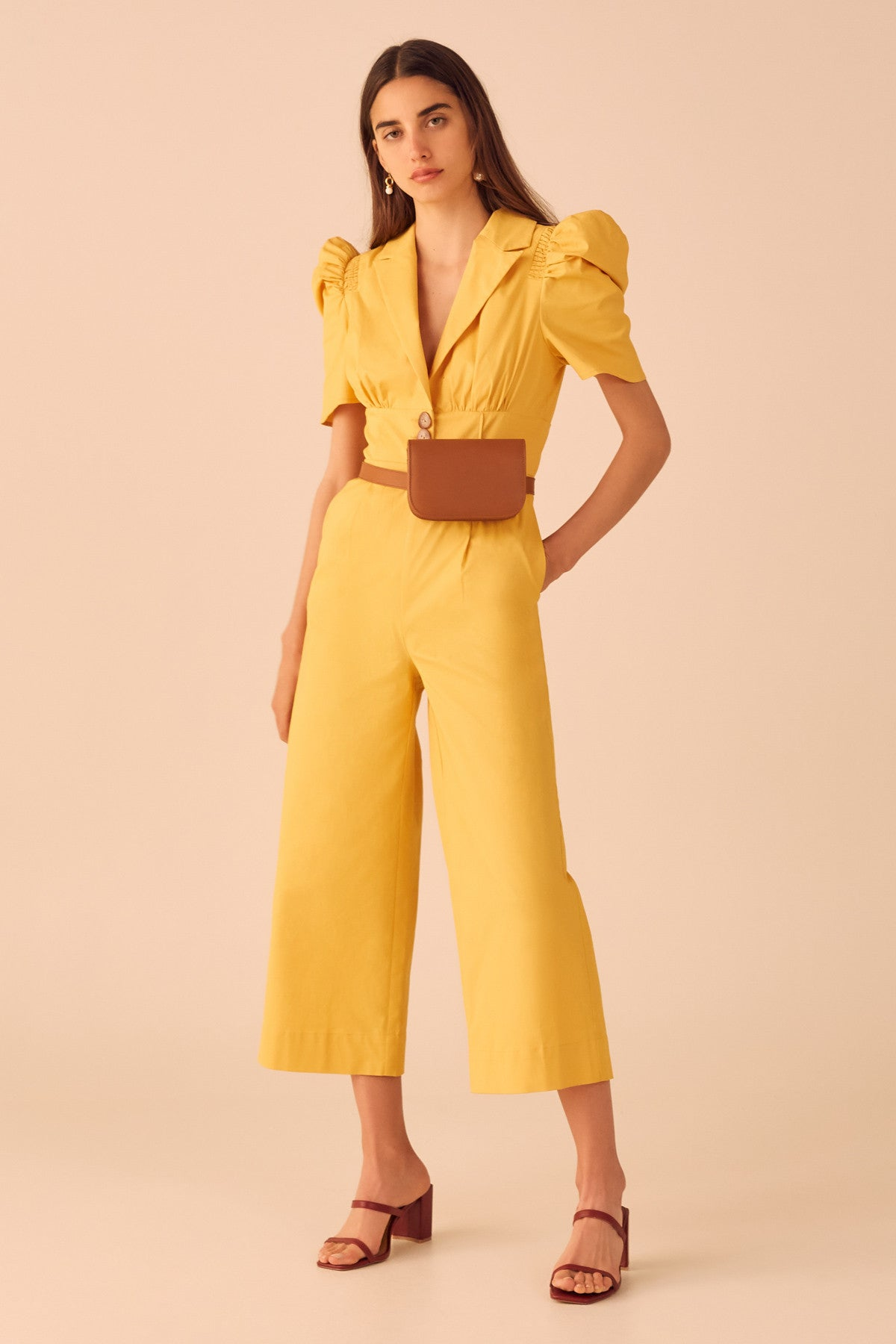 SUBSCRIBE JUMPSUIT marigold