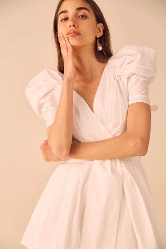 VICES PLAYSUIT white
