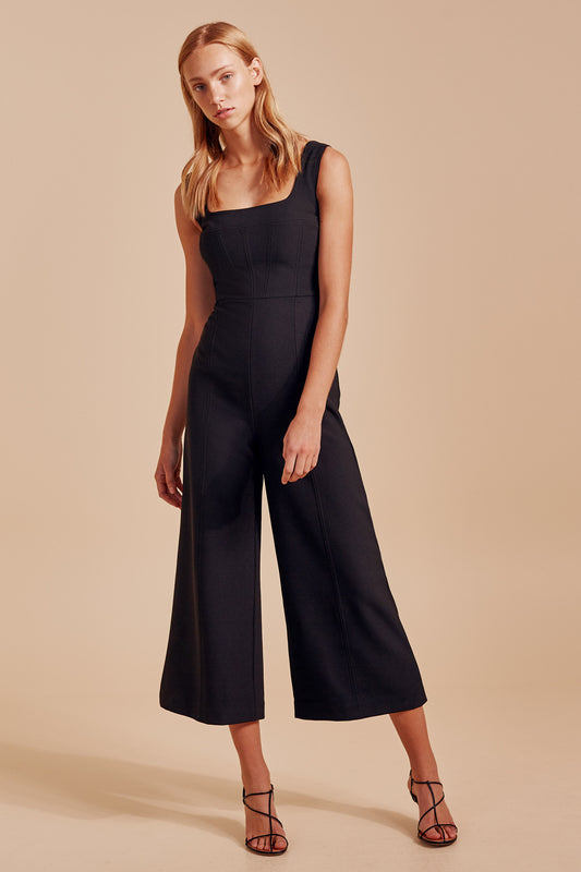 IMPULSE JUMPSUIT black