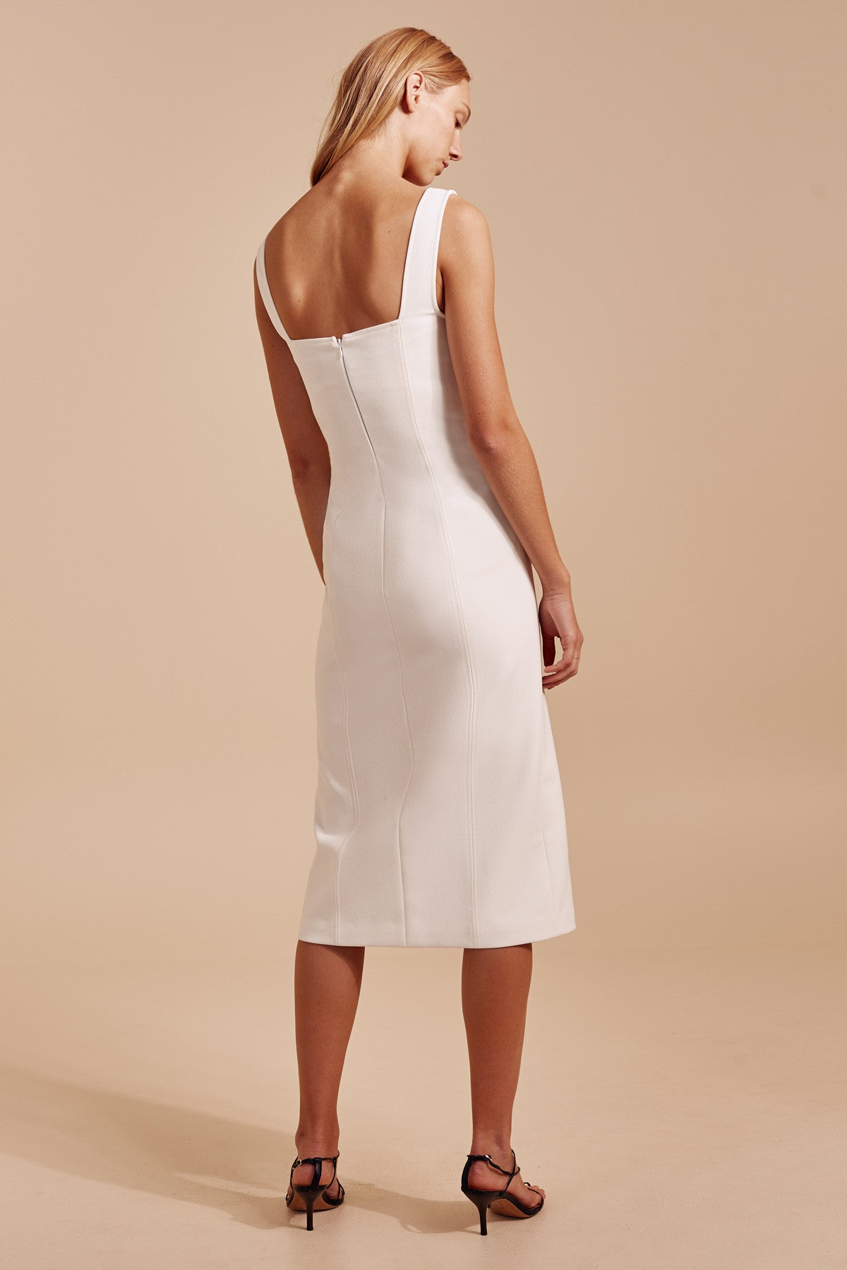 IMPULSE DRESS ivory