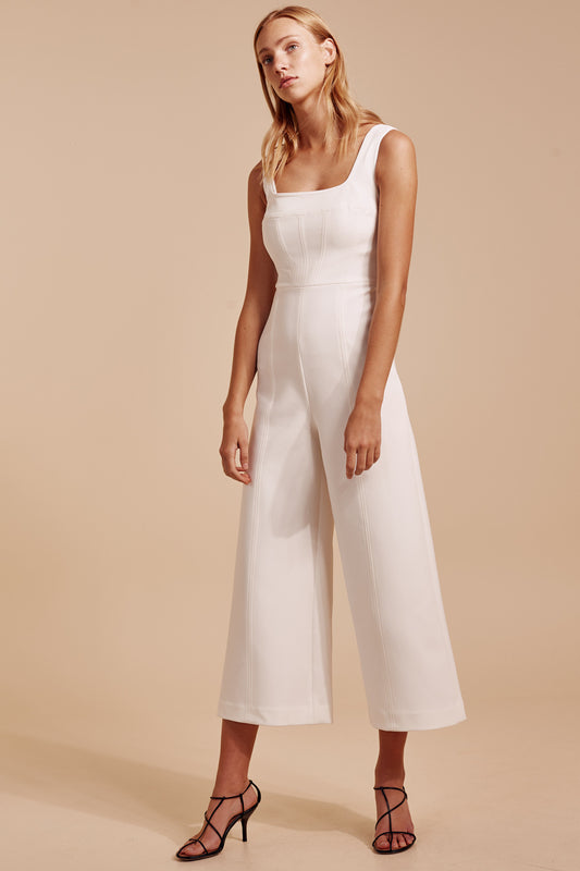 IMPULSE JUMPSUIT ivory