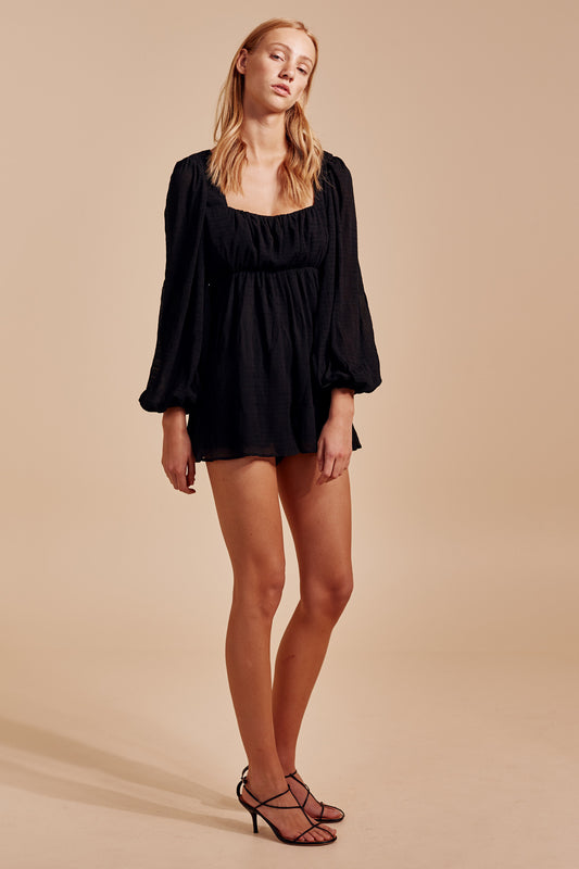 METHOD PLAYSUIT black