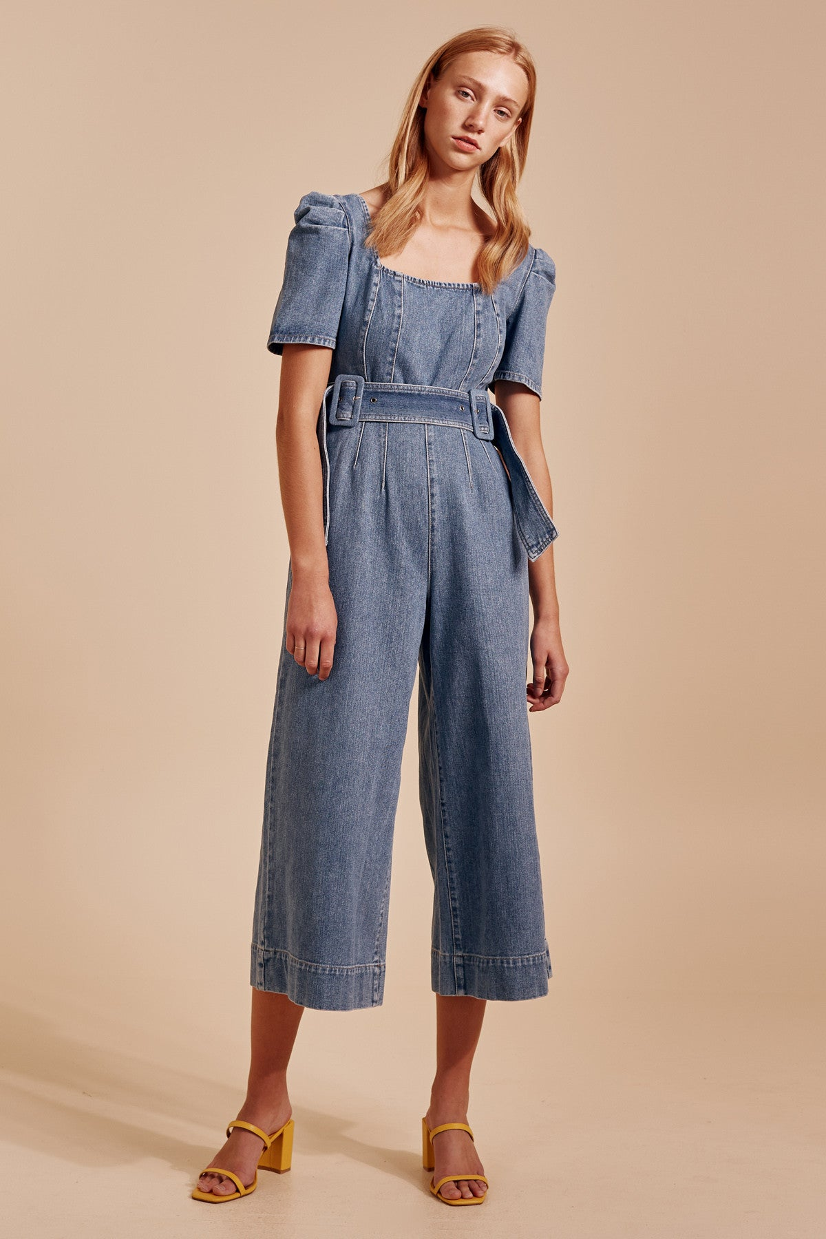 OUT OF SIGHT JUMPSUIT blue denim