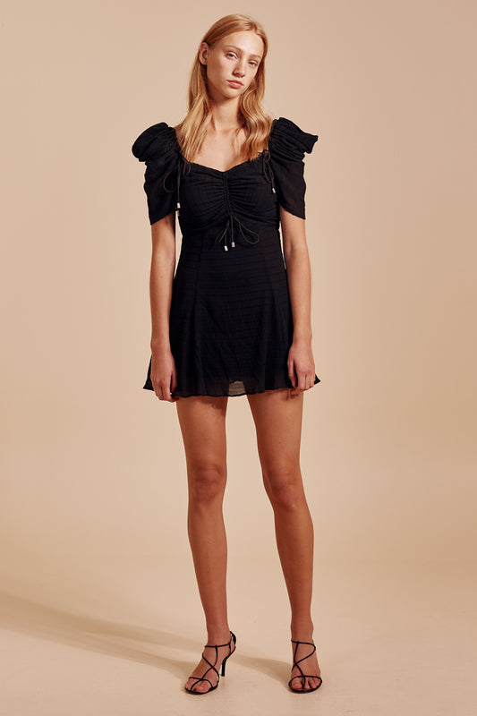 METHOD MINI DRESS black