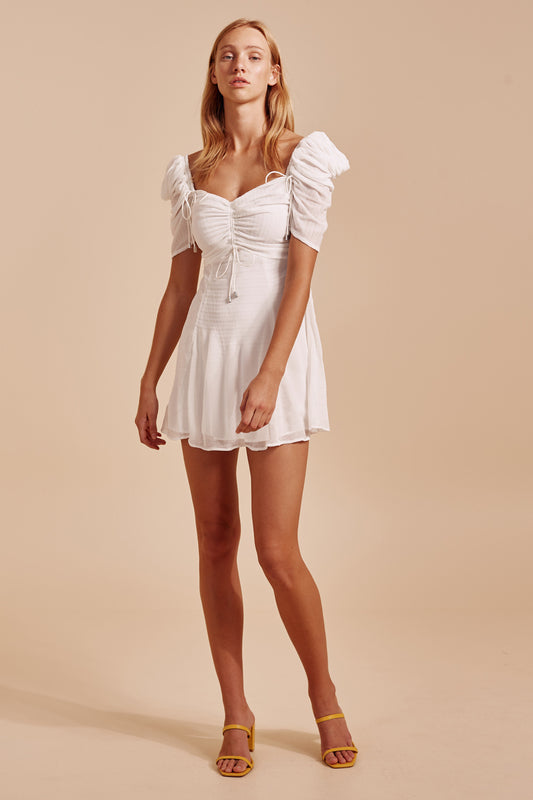 METHOD MINI DRESS ivory