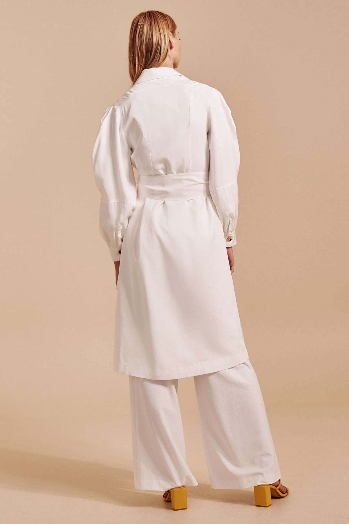 AFFECTATION TRENCH ivory