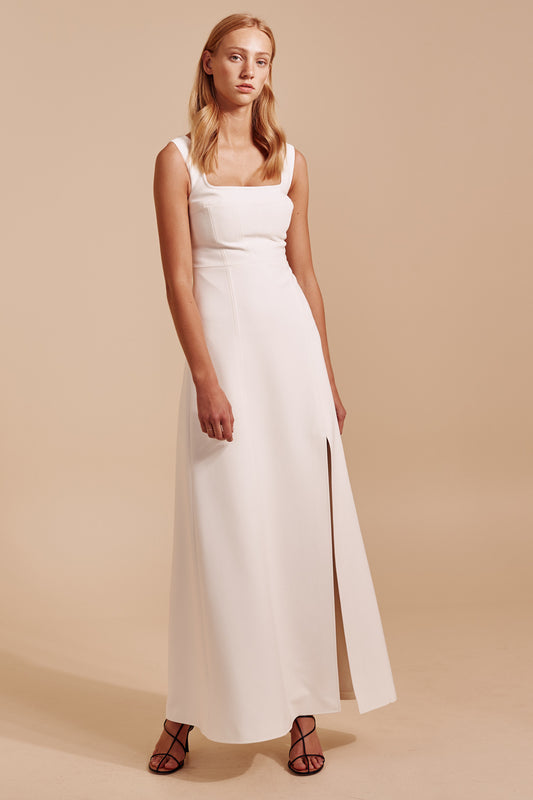 IMPULSE GOWN ivory