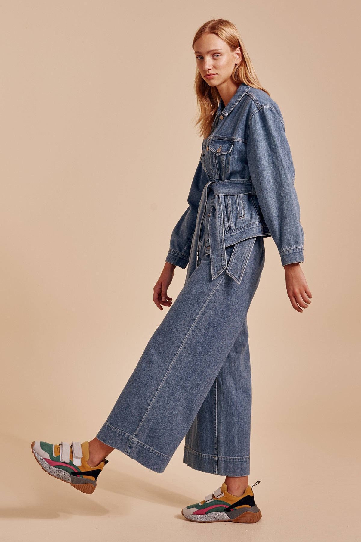 OUT OF SIGHT JEAN blue denim