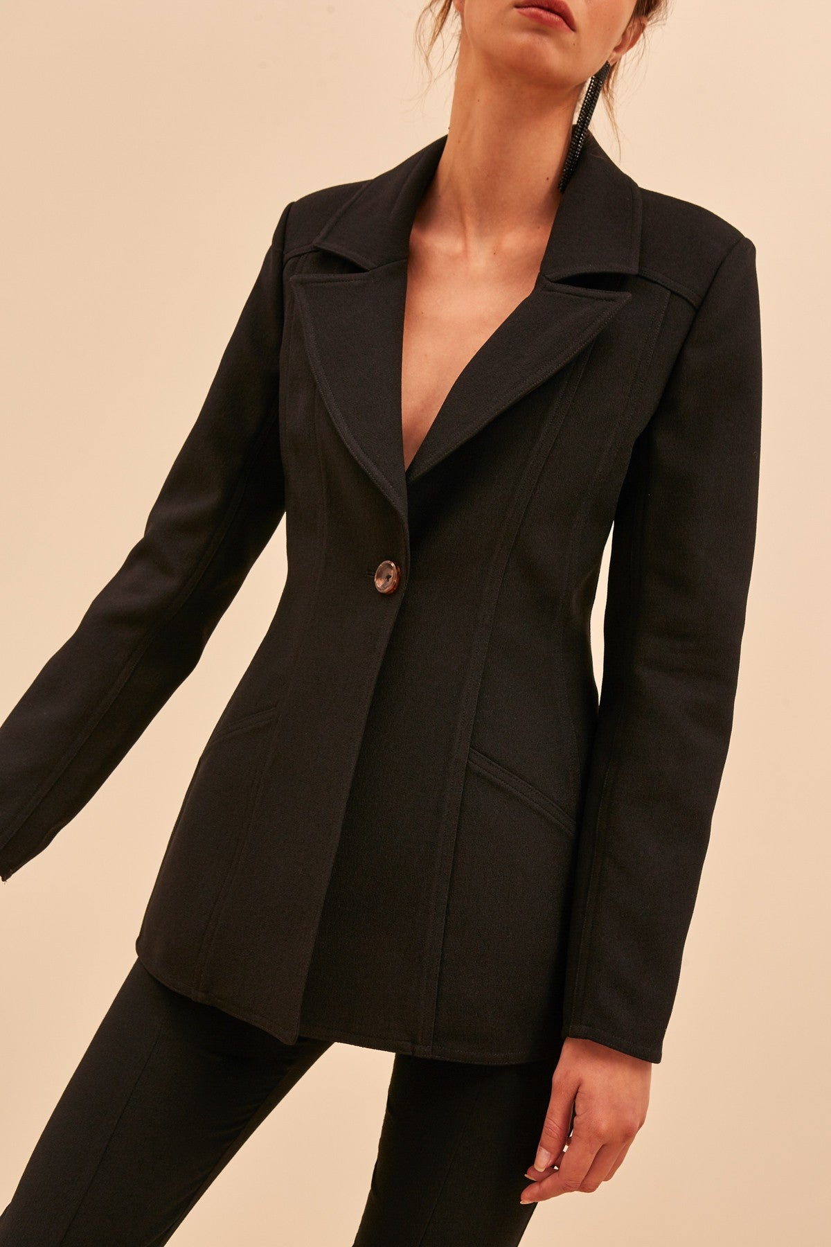 HIGH HEART BLAZER black