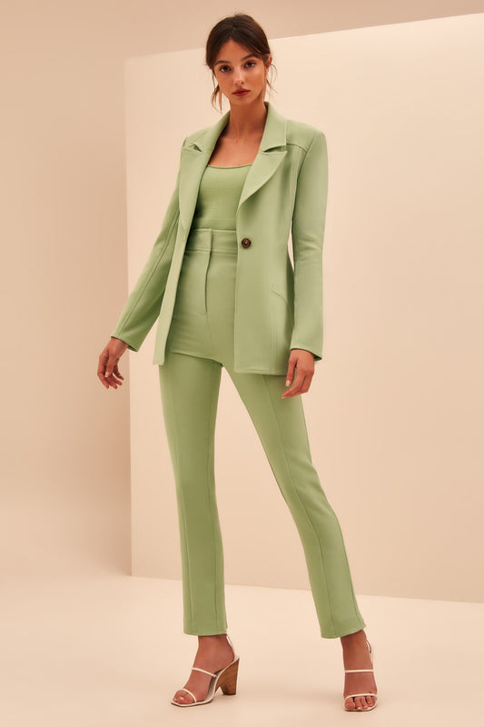 HIGH HEART BLAZER mint