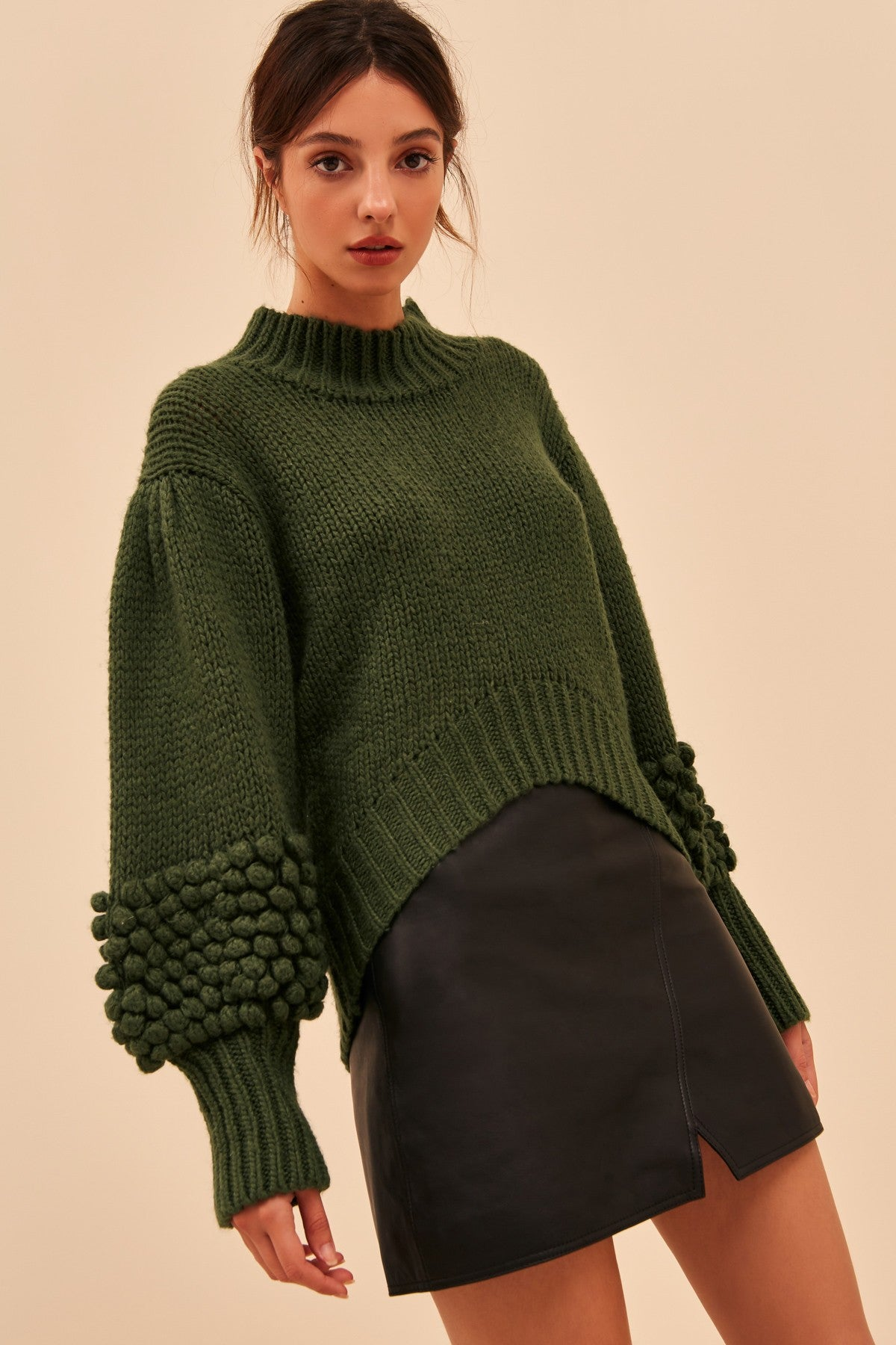 OBSESS KNIT JUMPER forest