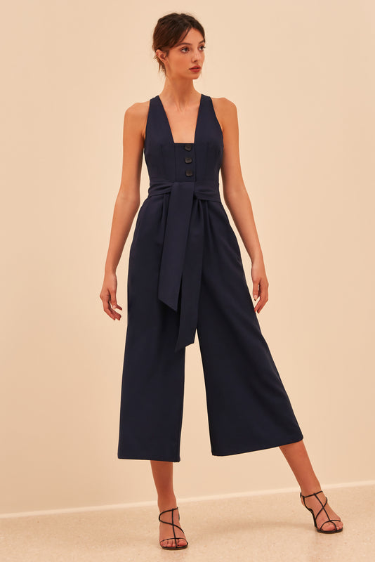 KNOWING YOU JUMPSUIT navy
