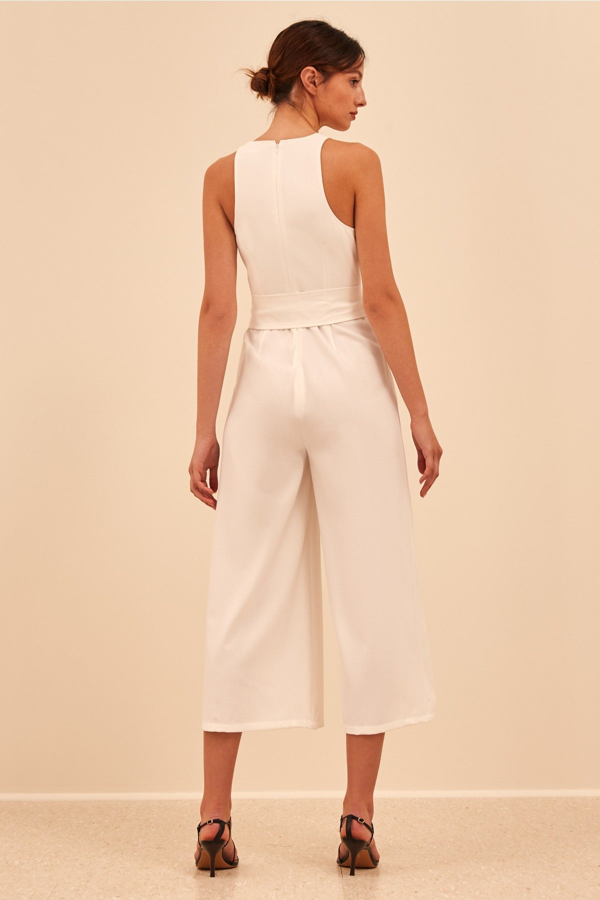 KNOWING YOU JUMPSUIT ivory