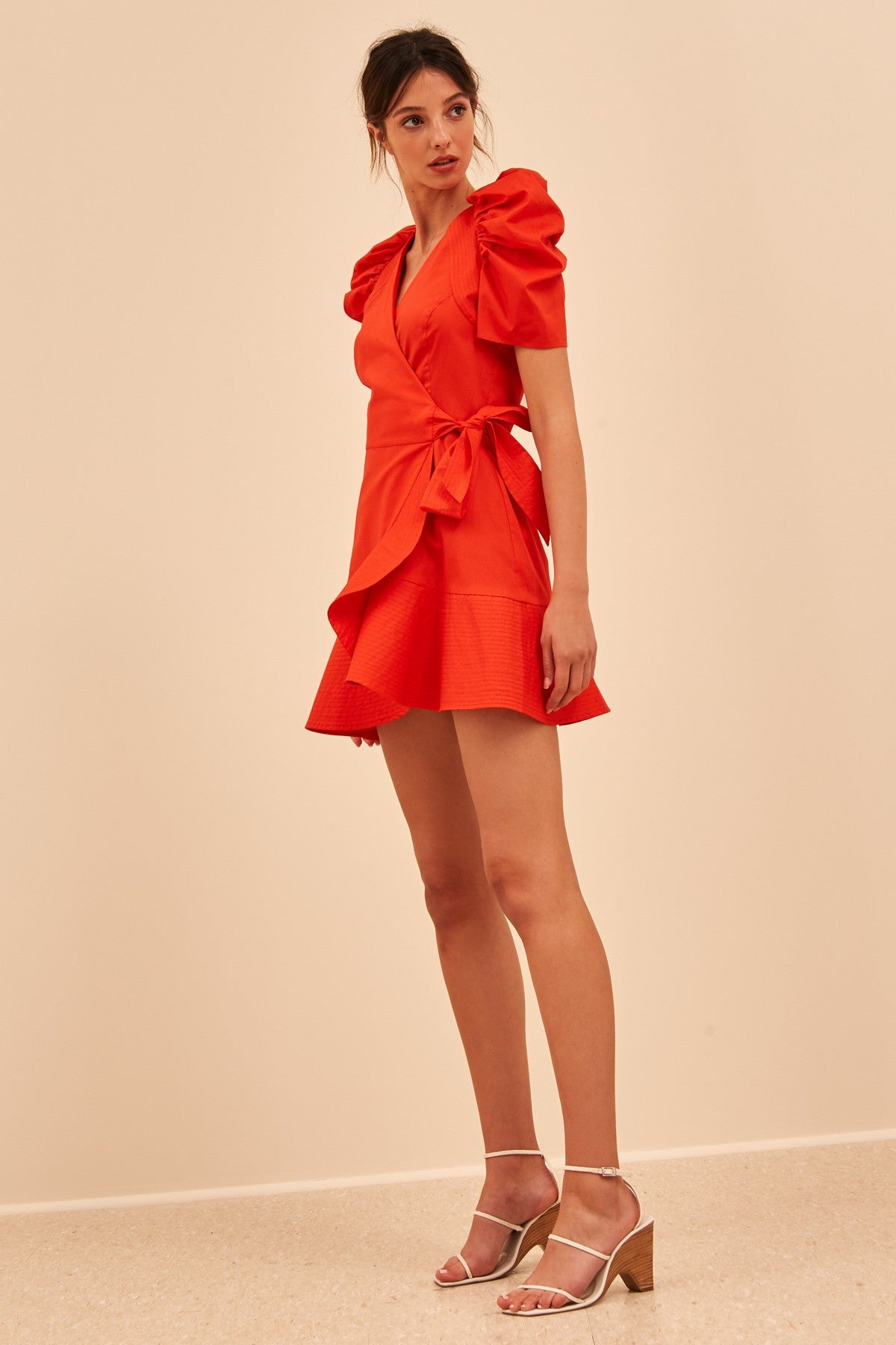 MOTIVATIONS DRESS morange