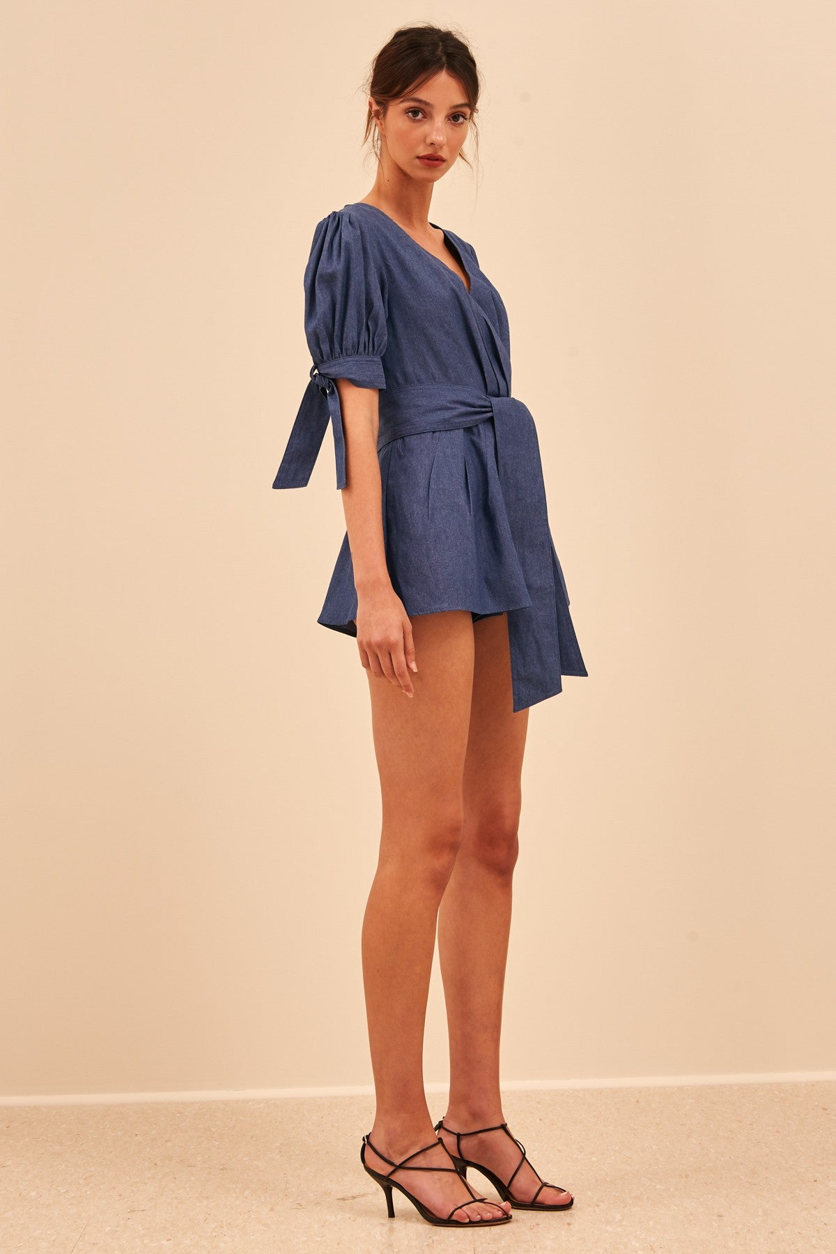 KIND TO YOU PLAYSUIT indigo