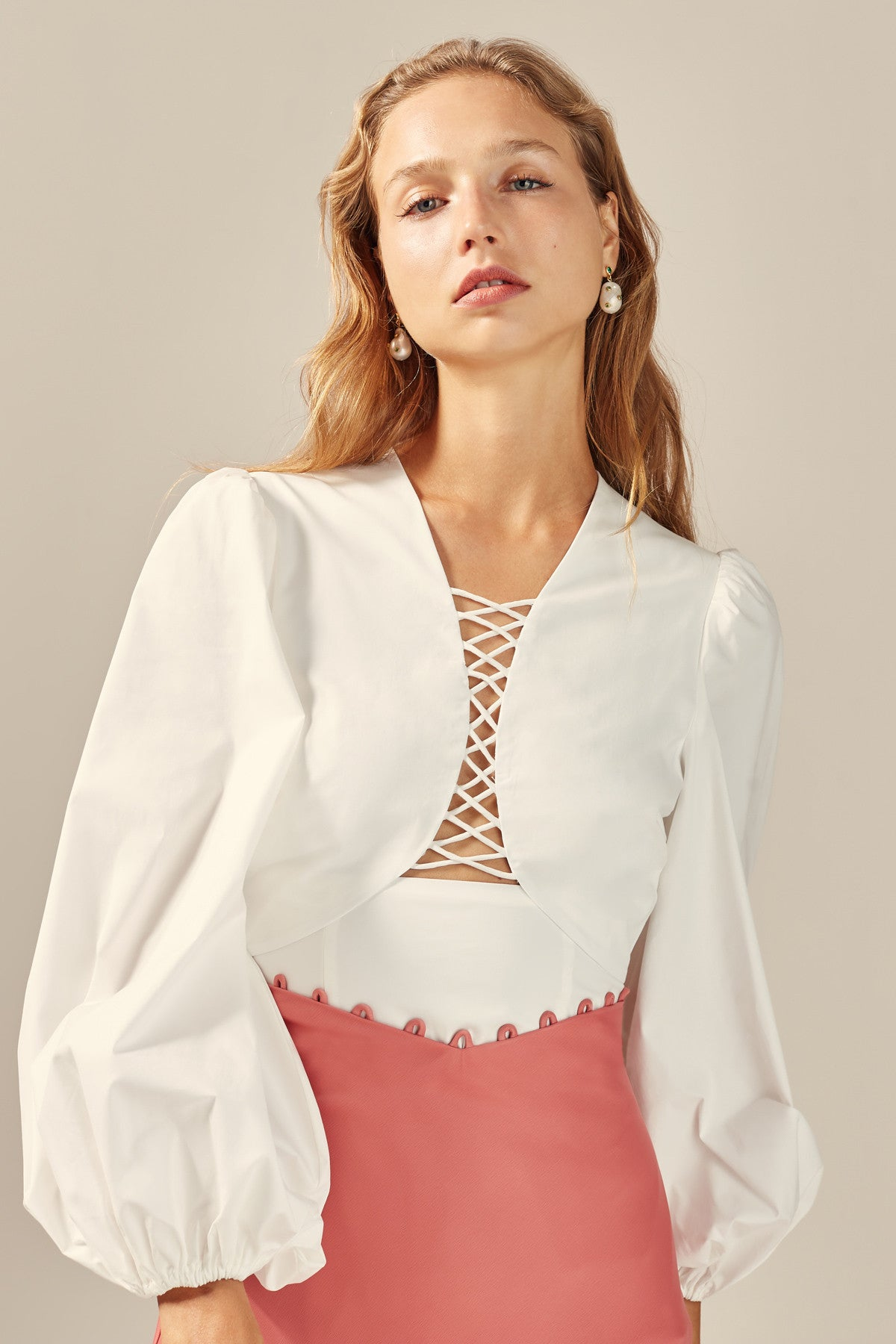 FEELS LIKE SUMMER TOP white