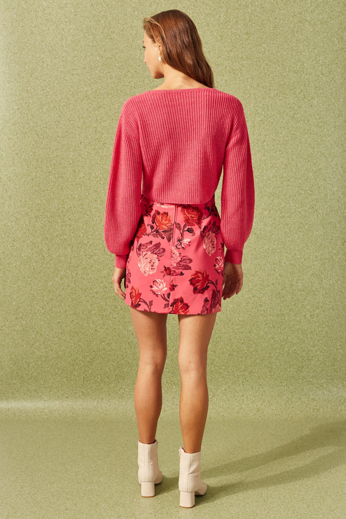 VARIATION SKIRT hot pink rose