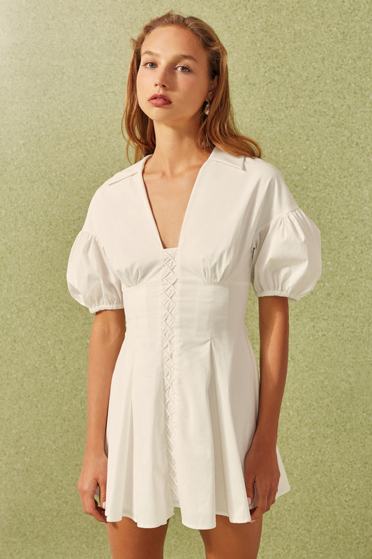 FEELS LIKE SUMMER DRESS white