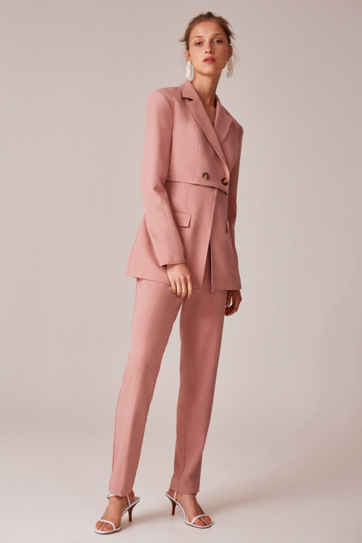 ACCEPTING BLAZER dusty pink