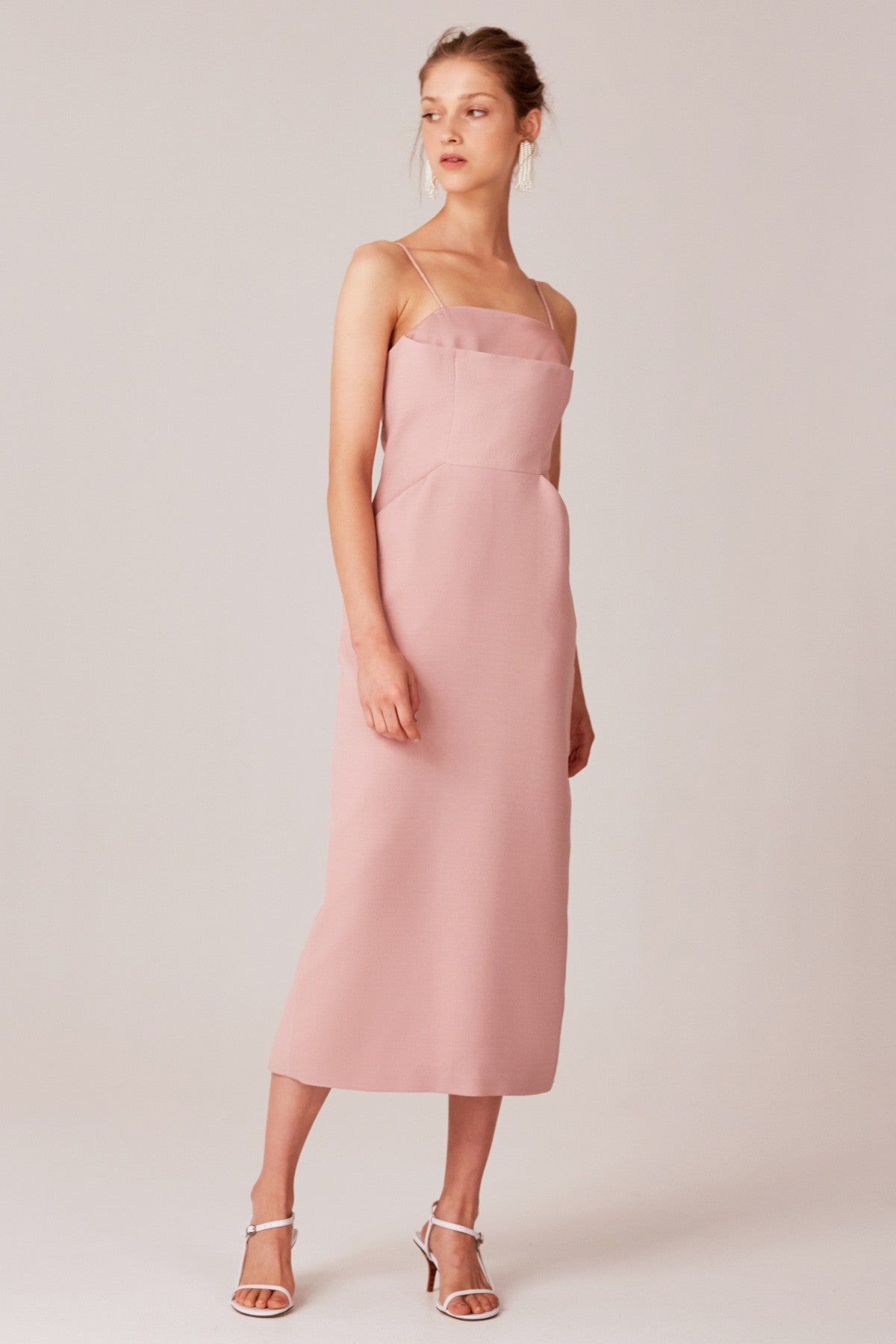 NEXT STEP DRESS dusty pink